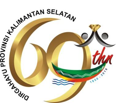 Logo Hari Jadi Prov Kalsel Ke 69 Tahun 2019