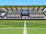 Desain Tribun Stadion 17 Mei Banjarmasin